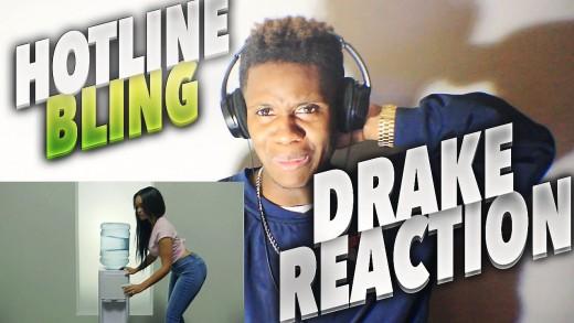 """Drake – Hotline Bling Music Video """"NiQs REACTION"""""""