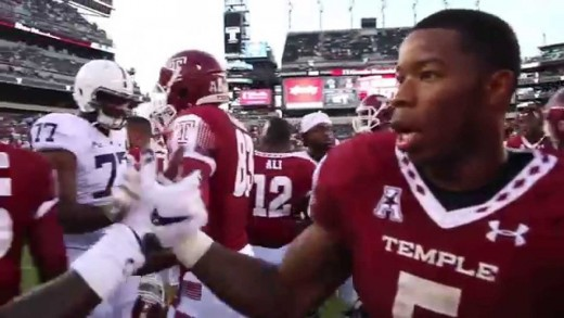 Behind-the-Scenes: Temple Football's Win Over Penn State