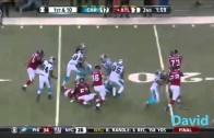 Carolina Panthers 2015 week 17 Defense Highlights