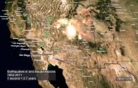 Earthquakes in AZ: 1852-2011