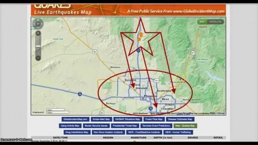 Earthquakes rattle Phoenix Arizona | Unprecedented