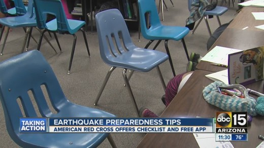 Feel the AZ quakes? Earthquake preparedness tips