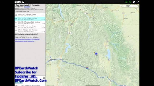 FIREBALL HITS JEEP/ARIZONA EARTHQUAKE