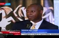 First lady Margret Kenyatta attends Kenya art fair