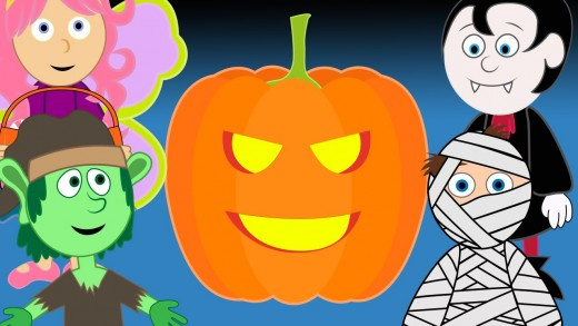 Halloween Time | All ages Halloween song & animation