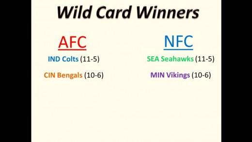 How the NFL Playoffs Work