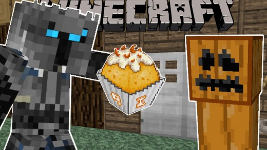 Minecraft: TRICK OR TREATING! – HALLOWEEN CANDY – Custom Map [2]