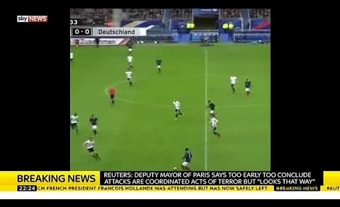Paris Attack | Explosion Audible From Stade De France