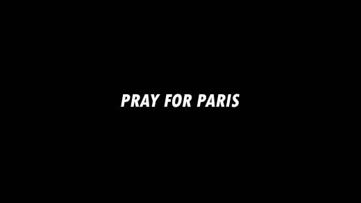 Pray for Paris, restons unis.