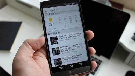 Review: News and Weather by Google