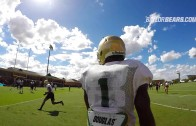 WIRED: Baylor Football's Corey Coleman GoPro & Mic'd Up Practice