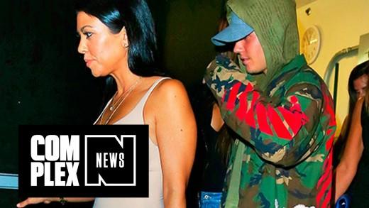 Kourtney Kardashian Rumored to Be Hooking Up With Justin Bieber