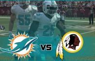 Madden NFL 16 Miami Dolphins Franchise- Year 1 Game 1 at Washington Redskins