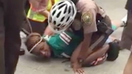 Miko Grimes (Wife of Dolphins' Brent Grimes) Getting Arrested Outside Miami Dolphins' Stadium