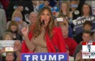 Donald Trump's Family Comes On Stage; Melania Speaks in Myrtle Beach