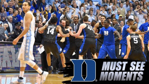 Duke Basketball: Defensive Stand Seals Upset Over UNC | ACC Must See Moment