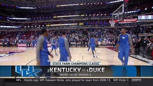Kentucky vs Duke Full game NCAA basketball 2015 / 11.17.2015